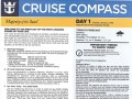 Majesty Of The Seas 3 Night Bahamas Cruise - 01/02/2018 - Cruise Compass - Day 1 - Page 1