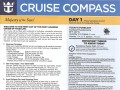 3 Night Bahamas Cruise - Cruise Compass - Day 1 - Page 1