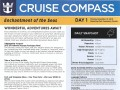 Enchantment Of The Seas 4 Night Bahamas Cruise (Thanksgiving) - 11/19/2018 - Cruise Compass - Day 1 - Page 1