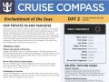 Enchantment Of The Seas 4 Night Bahamas Cruise (Thanksgiving) - 11/19/2018 - Cruise Compass - Day 2 - Page 1