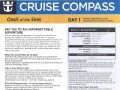 Oasis Of The Seas 7 Night Western Caribbean Cruise - 09/09/2018 - Cruise Compass - Day 1 - Page 1