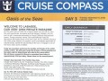 Oasis Of The Seas 7 Night Western Caribbean Cruise - 09/09/2018 - Cruise Compass - Day 3 - Page 1