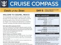 Oasis Of The Seas 7 Night Western Caribbean Cruise - 09/09/2018 - Cruise Compass - Day 6 - Page 1