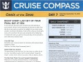 Oasis Of The Seas 7 Night Western Caribbean Cruise - 09/09/2018 - Cruise Compass - Day 7 - Page 1