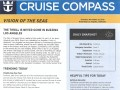 Vision Of The Seas 16 Night Panama Canal Eastbound Cruise - 11/29/2018 - Cruise Compass - Day 1 - Page 1