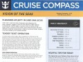 Vision Of The Seas 16 Night Panama Canal Eastbound Cruise - 11/29/2018 - Cruise Compass - Day 3 - Page 1