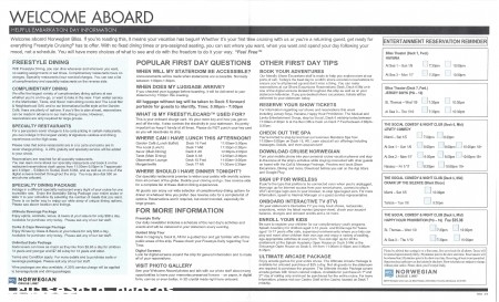 Norwegian Bliss 7-Day Eastern Caribbean Cruise From Miami - 1/5/2019 - Welcome Aboard - Day 1 - Page 1