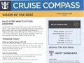 Vision Of The Seas 16 Night Panama Canal Eastbound Cruise - 11/29/2018 - Cruise Compass - Day 5 - Page 1