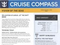 Vision Of The Seas 16 Night Panama Canal Eastbound Cruise - 11/29/2018 - Cruise Compass - Day 6 - Page 1