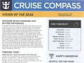Vision Of The Seas 16 Night Panama Canal Eastbound Cruise - 11/29/2018 - Cruise Compass - Day 9 - Page 1