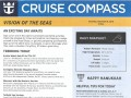Vision Of The Seas 16 Night Panama Canal Eastbound Cruise - 11/29/2018 - Cruise Compass - Day 10 - Page 1