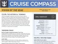 Vision Of The Seas 16 Night Panama Canal Eastbound Cruise - 11/29/2018 - Cruise Compass - Day 12 - Page 1