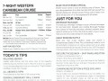Celebrity Equinox 7 Night Western Caribbean Cruise - 6/1/2019 - Daily Planner - Day 1 - Page 2