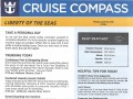 Liberty Of The Seas 7 Night Western Caribbean Cruise From Galveston - 4/28/2019 - Cruise Compass - Day 2 - Page 1
