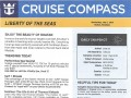Liberty Of The Seas 7 Night Western Caribbean Cruise From Galveston - 4/28/2019 - Cruise Compass - Day 4 - Page 1