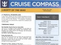 Liberty Of The Seas 7 Night Western Caribbean Cruise From Galveston - 4/28/2019 - Cruise Compass - Day 5 - Page 1