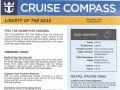 Liberty Of The Seas 7 Night Western Caribbean Cruise From Galveston - 4/28/2019 - Cruise Compass - Day 6 - Page 1