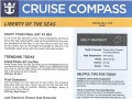 Liberty Of The Seas 7 Night Western Caribbean Cruise From Galveston - 4/28/2019 - Cruise Compass - Day 7 - Page 1