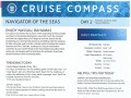 Navigator Of The Seas 3 Night Bahamas & Perfect Day Cruise - 1/3/2020 - Cruise Compass - Day 2 - Page 1